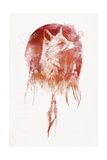 Mars Giclee Print by Robert Farkas