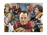 Greats Giclee Print by Murray Henderson