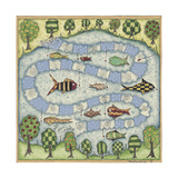 The Fish Game Giclee Print by Robin Betterley