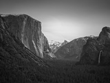 Tunnel View BW 2 Photographic Print by Moises Levy