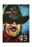 Richard Petty 001 Lámina giclée por Rock Demarco