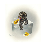 Ducks Unlimited Reproduction procédé giclée par Peggy Harris