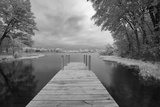 Dock at St. Joseph River, Centreville, Michigan '13-IR Photographic Print by Monte Nagler