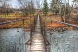 Footbridge Photographic Print by Robert Goldwitz