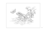 Frog Giclee Print by Pamela J. Smart