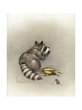 Cobs and Robbers Giclee Print by Peggy Harris