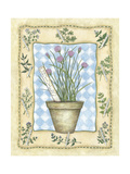 Chives Giclee Print by Robin Betterley