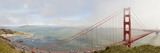 Golden Gate Panorama, San Francisco, California '11 Photographic Print by Monte Nagler
