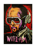 Will I Am Giclee Print by Rock Demarco