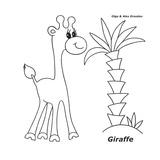 Giraffe Giclee Print by Olga And Alexey Drozdov
