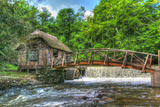 Mill House and Stream Photographic Print by Robert Goldwitz