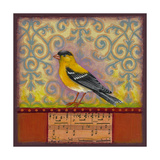 Goldfinch Giclee Print by Rachel Paxton
