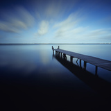 Muelle Azul Crop Photographic Print by Moises Levy