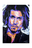 Depp Art 001 Giclee-trykk av Rock Demarco