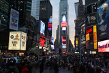 Times Square Photographic Print by Robert Goldwitz