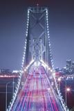 Oakland Bridge 3 Color Photographic Print by Moises Levy