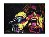 Steven Tyler 001 Giclee Print by Rock Demarco