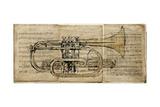 Trumpet 2 Giclée-tryk af  Symposium Design