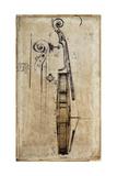 Violin Giclee Print by  Symposium Design