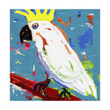 Cockatoo Can-Can Giclee Print by Sara Catena