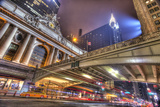 Grand Central Photographic Print by Moises Levy