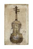 Violin 2 Giclee Print by  Symposium Design