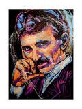 Nikola Tesla 003 Lámina giclée por Rock Demarco