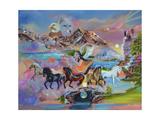 The Spirit of the Horse Lámina giclée por Sue Clyne
