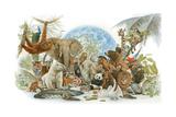 Animal Kingdom Giclee Print by Tim Knepp