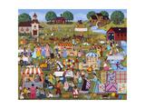 Annual Church Bazaar Giclee Print by Sheila Lee