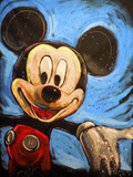 Mickey 001 Giclee Print by Rock Demarco