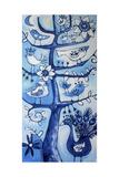 Santosha Tree (Tree of Contentment) Giclee Print by Sara Catena