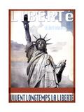 Liberté Giclee Print by  Sidney Paul & Co.