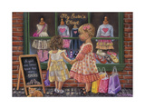 My Sister's Closet Giclee Print by Tricia Reilly-Matthews
