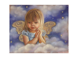 Your Guardian Angel Giclee Print by Tricia Reilly-Matthews