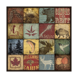 Lodge 16 Patch Giclée-Druck von Stephanie Marrott