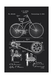 Bicycle Giclee Print by Tina Lavoie