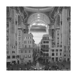 A Hole in the Wall Giclee Print by Thomas Barbey