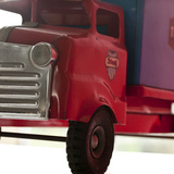 Red Truck Photographic Print by  Symposium Design