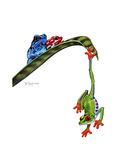 Frogs Hanging Out Giclée-tryk af Tim Knepp