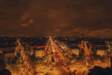 From Arc De Triomphe Photographic Print by Sebastien Lory