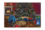 Under the Tree Giclee Print by Tricia Reilly-Matthews