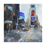 Times Square Giclee Print by  Solveiga