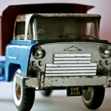 Blue Truck Photographic Print by  Symposium Design