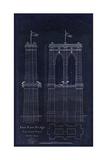 Brooklyn Bridge 1867 Giclee Print by Tina Lavoie