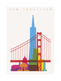 San Francisco Giclee Print by Yoni Alter