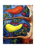 The Lovebird Dance Giclee Print by Sara Catena