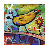 Symmetry of the Lovebird Giclee Print by Sara Catena