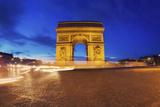 Arc de Triomphe, Paris, France Photographic Print by Sebastien Lory