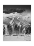 Camel Wash Station Giclee Print by Thomas Barbey